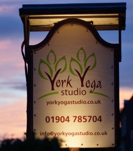 York Yoga Studio Sign Cropped