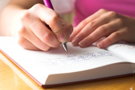writing notebook Writing for Wellbeing